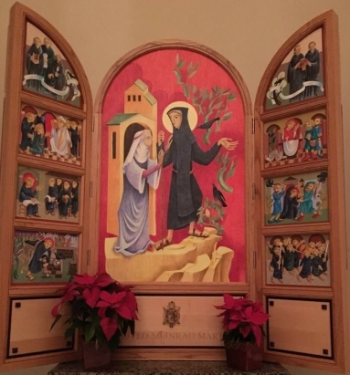 Icon of St. Meinrad